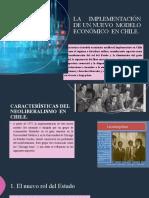 La implementación del Modelo Neoliberal en Chile (1)