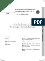 IT 13 - Pressurização de Escada de Emergência