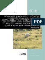 Arqueología Preventiva LT San Andrés- Antioquia