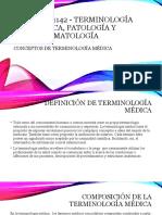 MASJ1142 - TERMINOLOGIA MEDICA - CONCEPTOS