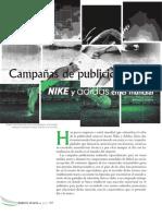 campaña publicidad en el mundial nike vs adidas