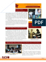 SAN Newsletter Winter 2011