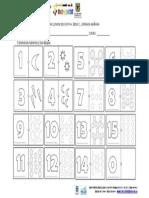 GUIA DE MATEMATICAS - NUMEROS 1-15