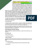 ALEGATO DE APERTURA SEÑORES JUECES DEL JUZGADO PENAL COLEGIADO DE CAÑETE