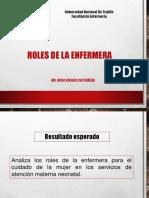 ROLES DE LA ENFERMERA EN LOS DIFERENTES AMBITOS