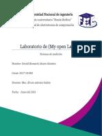Lab1 (My openlab)