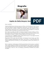 Biografia Sophia