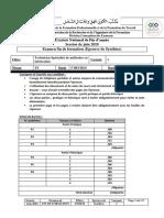 Enoncé  FF- V1 2020