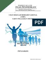 USBN PJOK 2020-2021 MGMP SMA