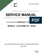 NEC 1550me-servicemanual-english