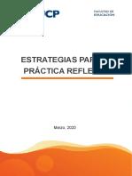Guía Estrategias Para La Práctica Reflexiva 2020