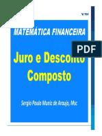 Slides Mat Fin  - MBA FGV - 3 e 4 - JURO E DESCONTO COMPOSTO  - FEV 21 - Rev 37 [Modo de Compatibilidade]