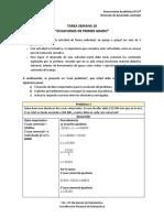 Tarea Semana 9 - Ecuación de Primer Grado entregar 2.0