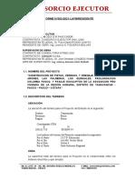 INFORME N 003 DE CAMBIO DE ALTURA