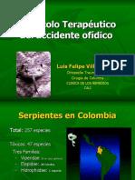 Accidente ofídico - 2004