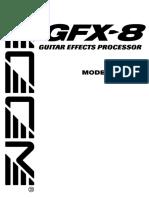 Zoom Gfx 8 Manuel Utilisateur Fr 30488