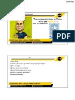 Aula 01 - Rac. Lógico e Matemática Básica - Slides - Prof. MSC Pedro Silas (1)