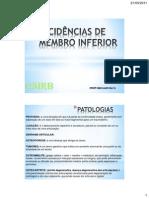 UNIRB - AULA DE INCIDÊNCIAS I  MMIII
