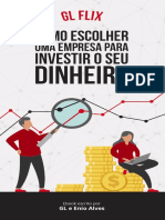 eBook Como Escolher Uma Empresa Para Investir Glflix