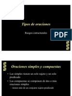 oraciones simples y compuestas