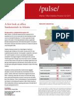 Metro Atlanta Q1 Preliminary Statistics[1][1]