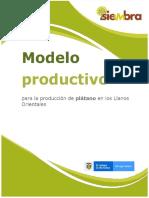 Modelo Productivo de Plátano Para La Orinoquia Colombiana_022021