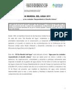 Programa Oficial DIA MUNDIAL DEL AGUA2