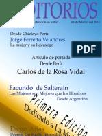 Revista Auditorios # 01 Conferencistas