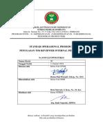 F.sop Penugasan Tim Reviewer Internal Penelitian K.T.P.D (SOP 122 LPPM STIKES)