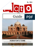 Pictoguide to Humayun's Tomb | Download for $1.99 at www.goplaces.in