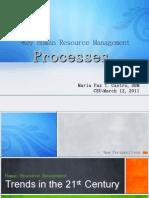 Key HRM Processes-MS2010