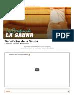 ▷ ¿Conoces los Beneficios de la Sauna_【HSN Blog】
