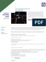 Economist for Global Risk Analysis Team - Frankfurt am Main, Germany (1)