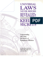 Universal Laws Never Before Revealed