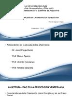 LA INTEGRALIDAD EN LA ORIENTACION VENEZOLANA (2)