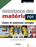 Résistance de Matériaux Coor Et Excercice Corrigé