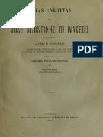Obras inéditas de José Agostinho de Macedo, Vol. I, 1900