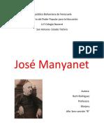 Vida de Jose Manyanet
