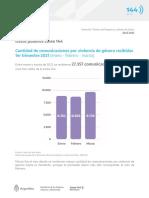Linea 144. Datos Publicos Para Infografia 1er Trimestre 2021