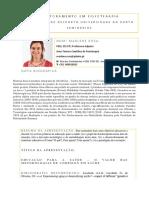 Prof. Marlene Rosa- Ficha
