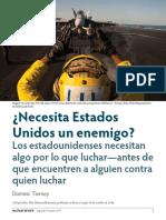 Necesita eeuu un enemigo