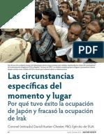 ocupacion irak japon