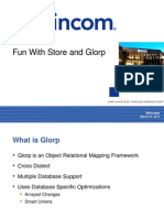 Fun With Store and Glorp - Samuel Shuster / Tom Robinson