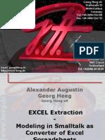 Smalltalk as a Convertor of Excel Spreadsheets - Georg Heeg