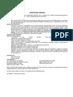 CERTIFICADO MEDICO CASO DOLORES YANIRA GUTIERREZ (VIOLACION)