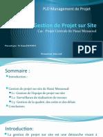 Gestion de Projet sur Site 02