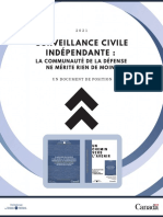 Surveillance Civile Indépendante La Communauté de La Défense Ne Mérite Rien de Moins - FR