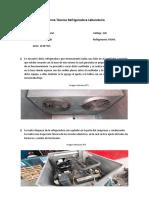 Informe Técnico Refrigeradora Laboratorio 2