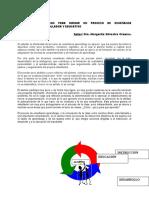 Exigencias Didàcticas para dirigir el PEA Margarita silvestre
