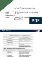 Ingenieria de Requerimientos U1